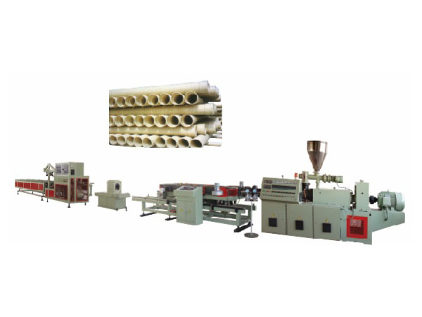 BW-II型双壁波纹管生产线